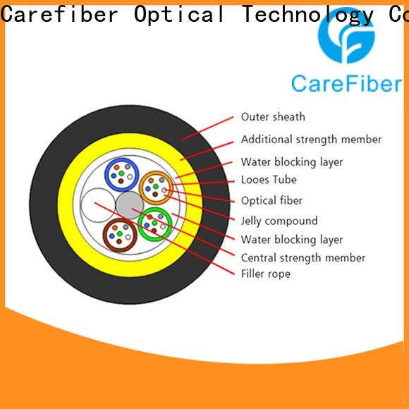 Carefiber adss aerial fiber cable program consultation for communication