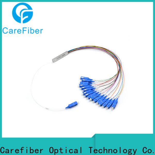 Carefiber quality assurance fiber splitter cooperation for industry