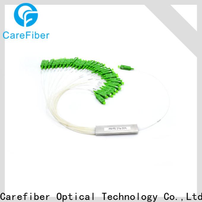 Carefiber most popular fiber optic splitter types foreign trade for industry