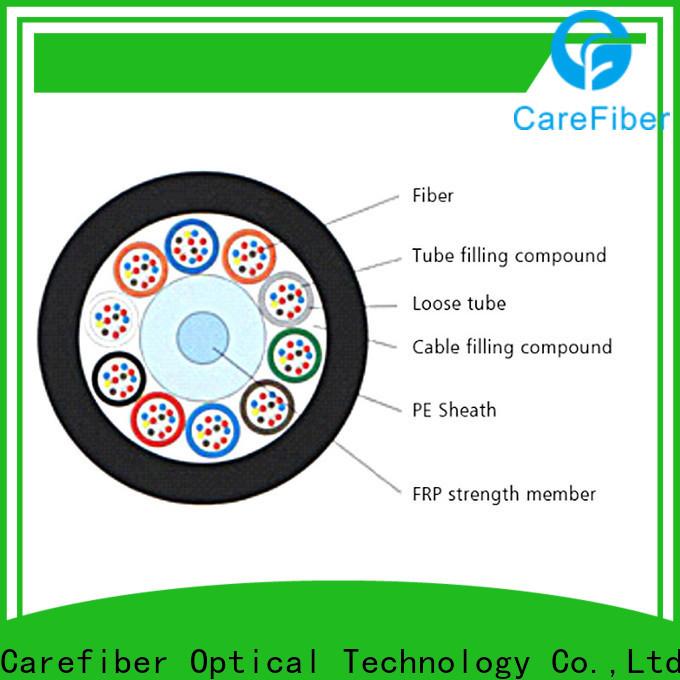 Carefiber cost-effective outdoor fiber source now for merchant