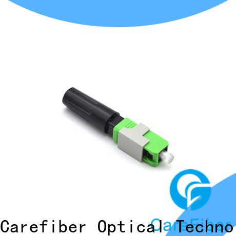 Carefiber dependable lc fiber connector provider for distribution