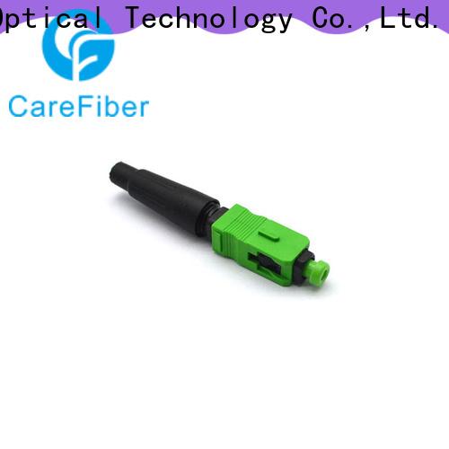 Carefiber best fiber optic cable connector types trader for distribution