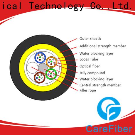 Carefiber high reliability cable adss program consultation for communication