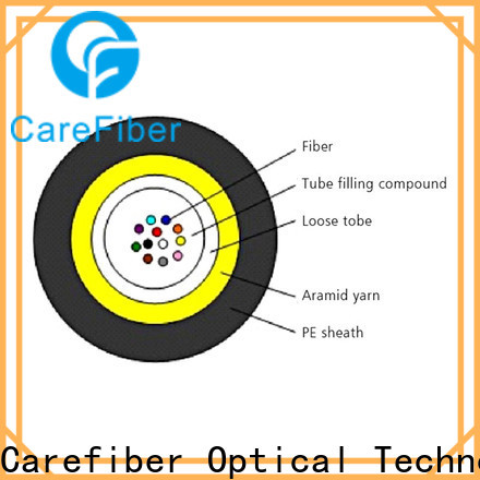 Carefiber gcyfxty fiber optic network cable manufacturer for importer