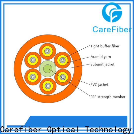 customized single mode fiber cable gjbfjv provider for sale