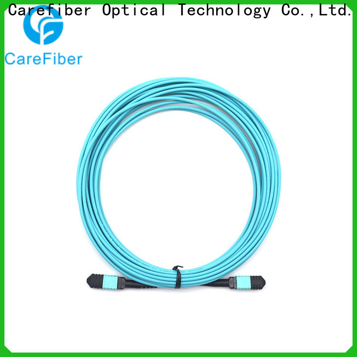 Carefiber quality assurance fiber patch cord types foreign trade for wholesale
