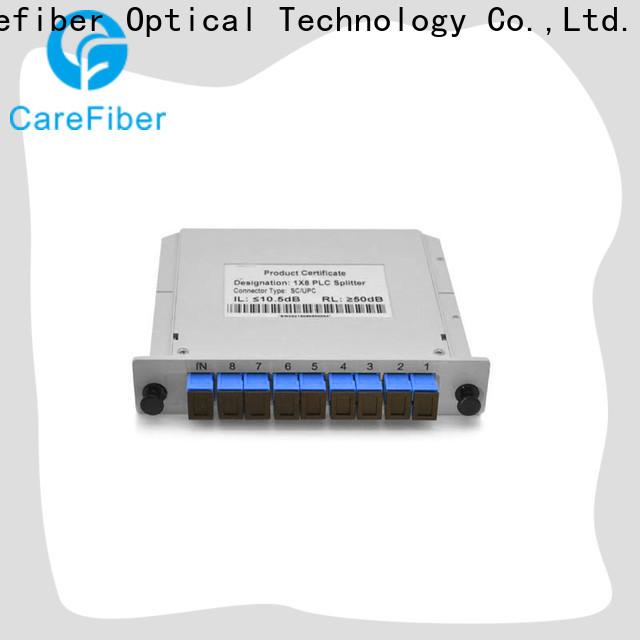 Carefiber mini splitter plc trader for communication