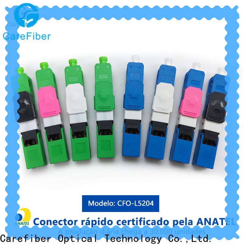 Carefiber bulk production fiber optic cable types manufacturer for communication