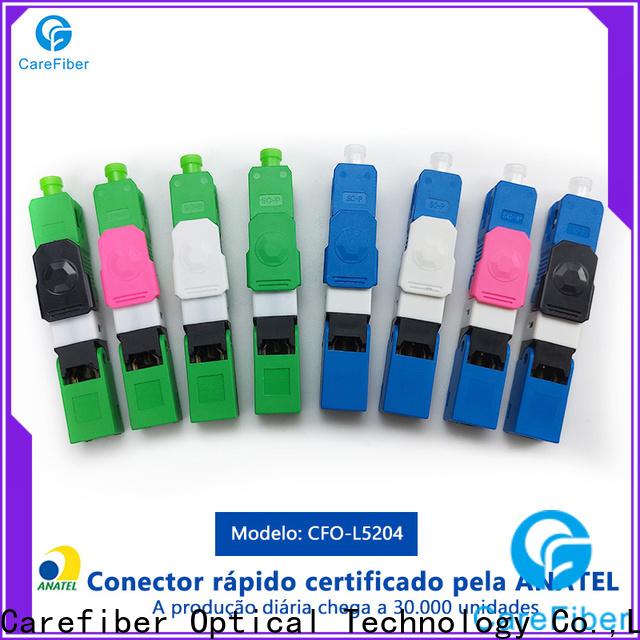 Carefiber dependable fiber fast connector provider for communication