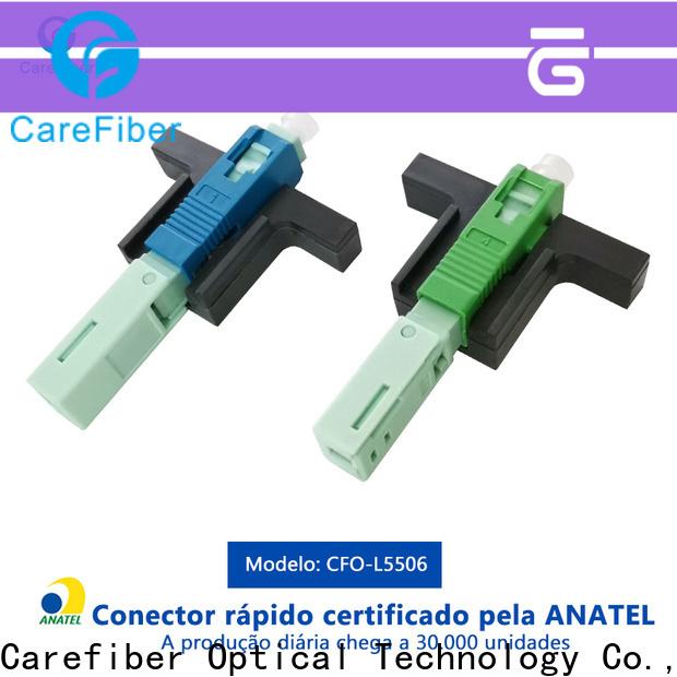 Carefiber cfoscupc6001 lc fiber connector provider for consumer elctronics