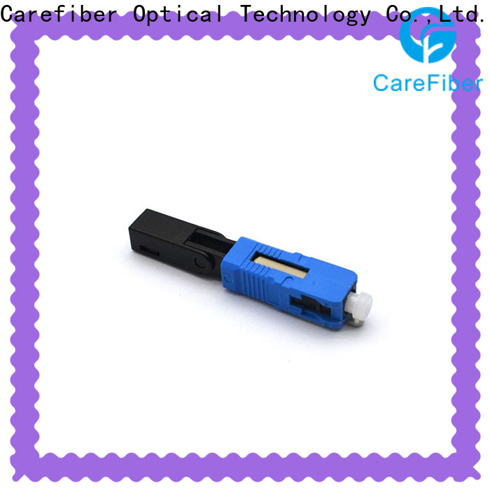 Carefiber best optical connector types provider for consumer elctronics