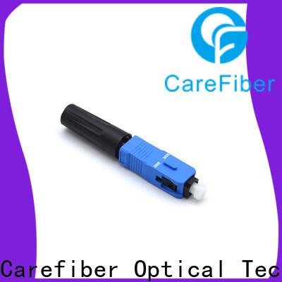 Carefiber fiber sc fiber optic connector trader for consumer elctronics
