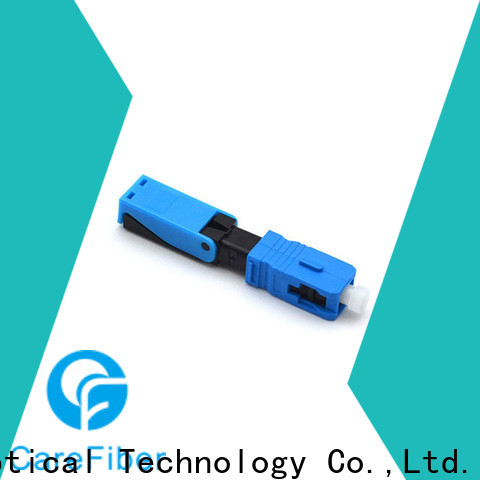 Carefiber cfoscapcl5202 fiber optic fast connector trader for consumer elctronics