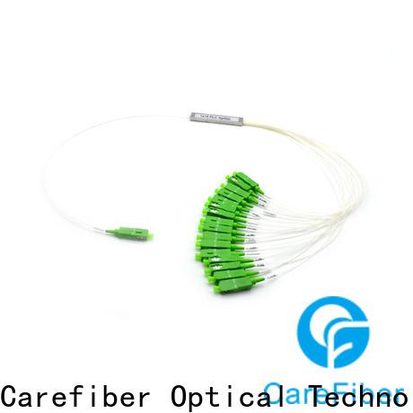 Carefiber 1x64 optical cable splitter trader for communication