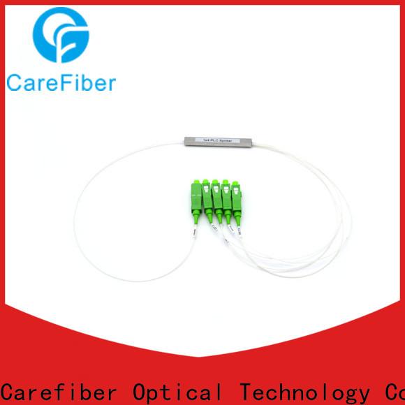 Carefiber scupc fiber splitter cooperation for global market