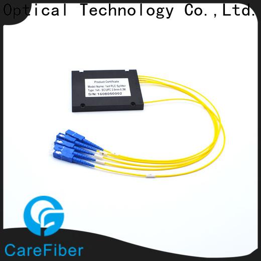 Carefiber mini optical splitter best buy cooperation for communication