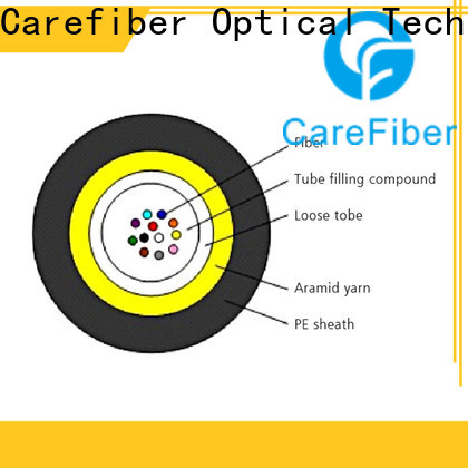 Carefiber gcyfy single mode fiber optic cable manufacturer for importer