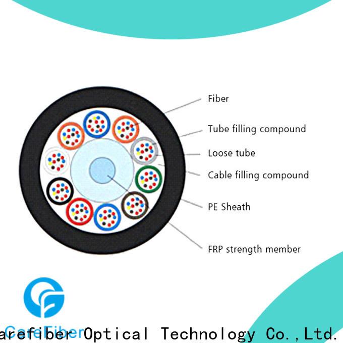 Carefiber outdoor multimode fiber optic cable source now for merchant