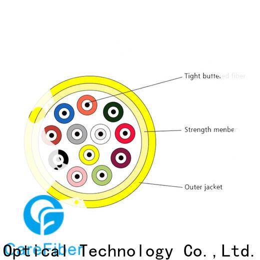 Carefiber gjfv fiber optic or optical fiber maker for indoor environment