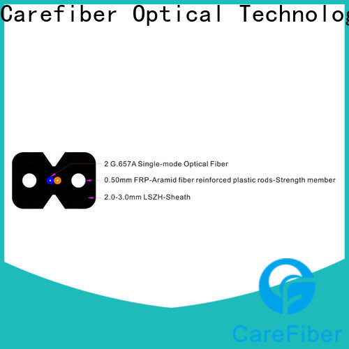 Carefiber gjyxfch ftth drop cable trader for network