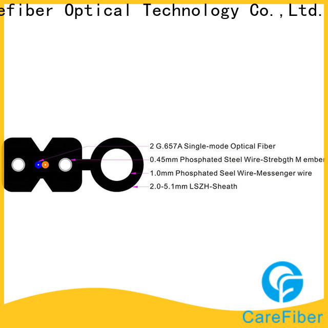 Carefiber highly recommended ftth drop cable supplier for wholesale