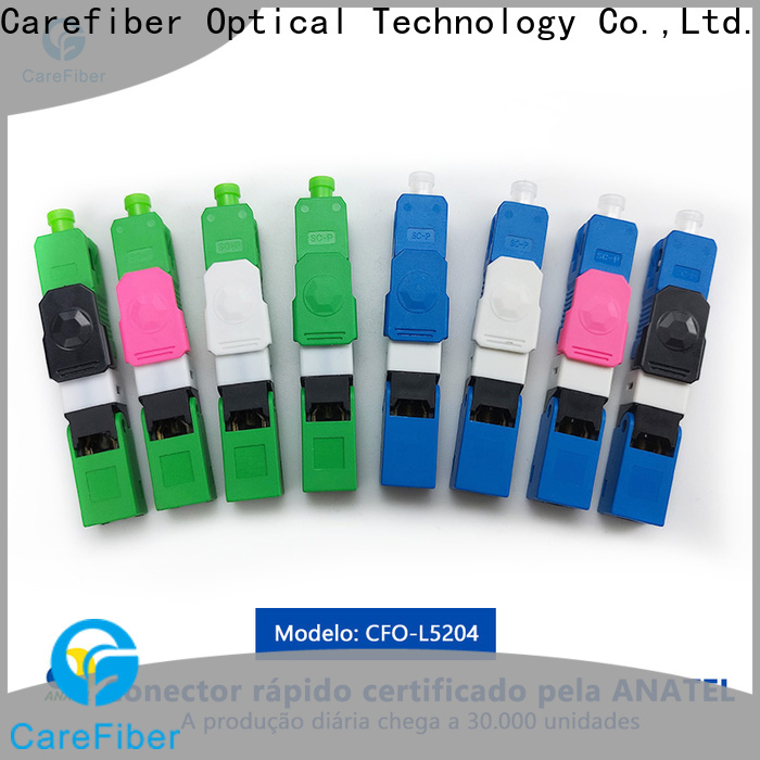 bulk production fiber optic cable types China factory for communication