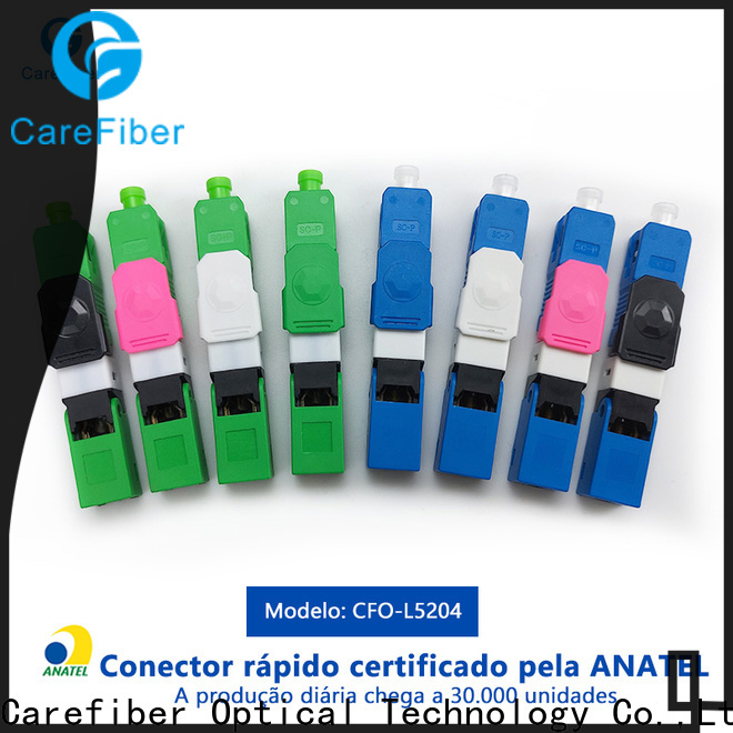 new fiber fast connector sc provider for consumer elctronics