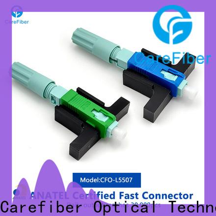 Carefiber dependable sc fiber optic connector trader for consumer elctronics