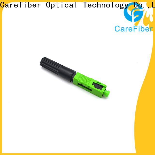 Carefiber cfoscupc optical connector types provider for consumer elctronics