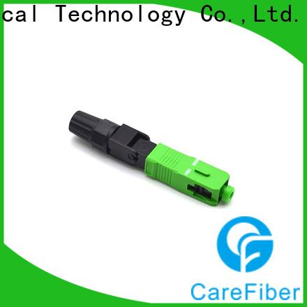 Carefiber best optical connector types trader for communication