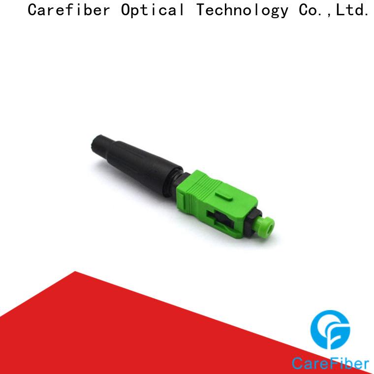 Carefiber connectorcfoscapcl5001 fiber fast connector provider for communication