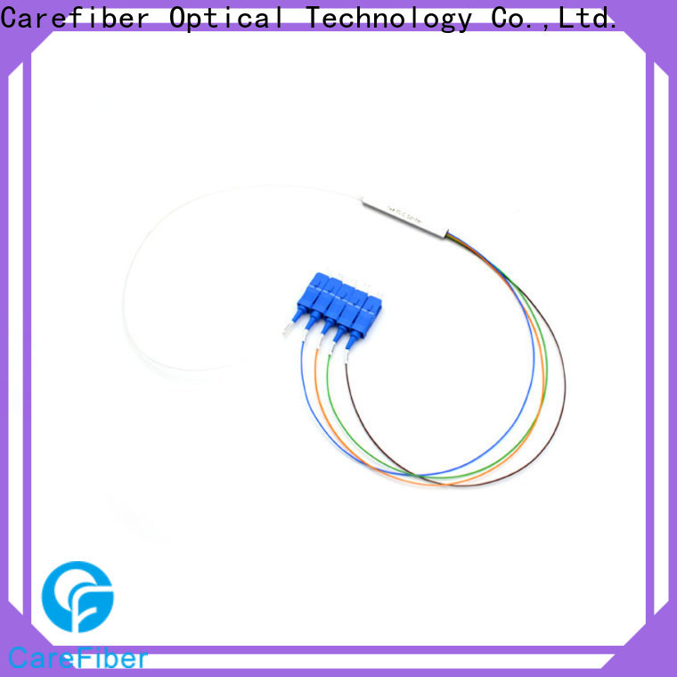 Carefiber 1x64 optical splitter foreign trade for communication
