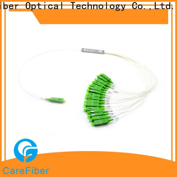 Carefiber most popular plc fiber splitter foreign trade for industry