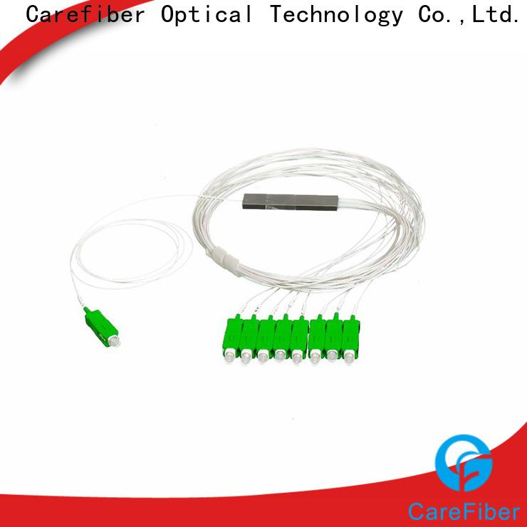 Carefiber splitte optical splitter cooperation for industry