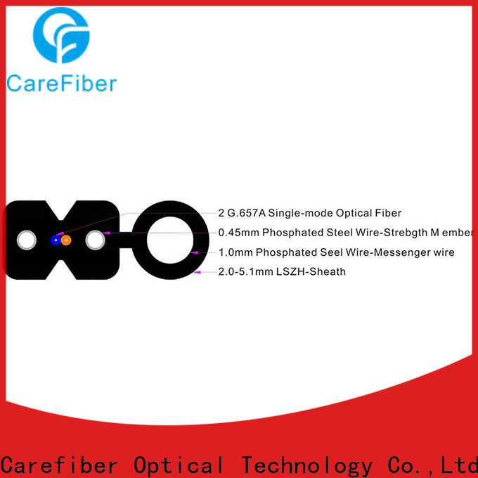 Carefiber highly recommended cable ftth supplier for wholesale