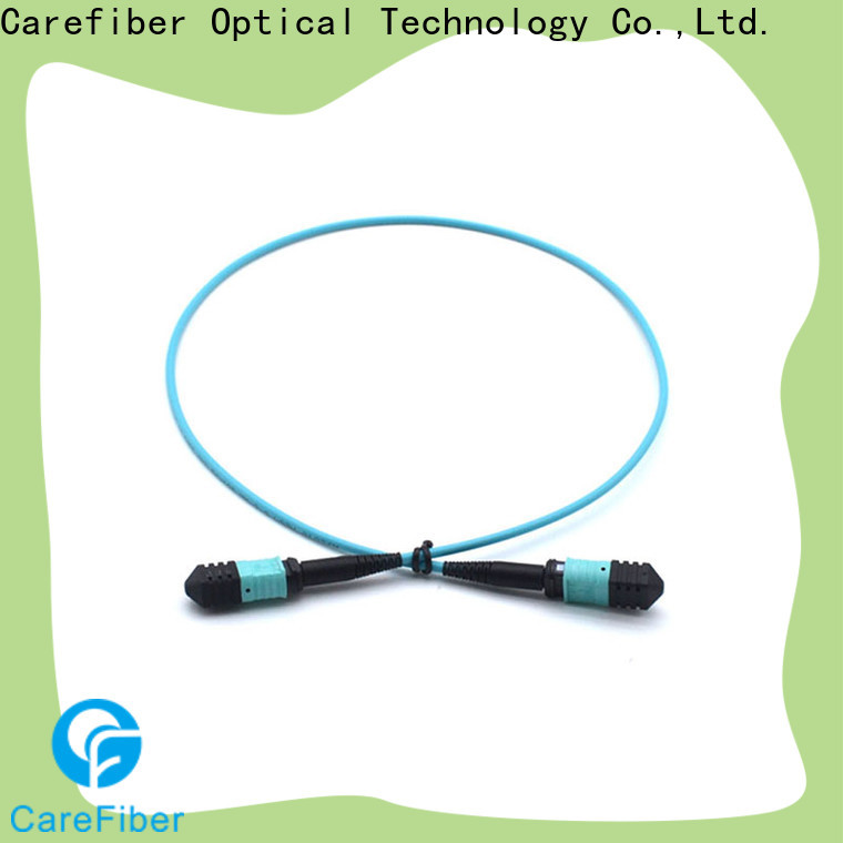 Carefiber best optical patch cord cooperation for connections