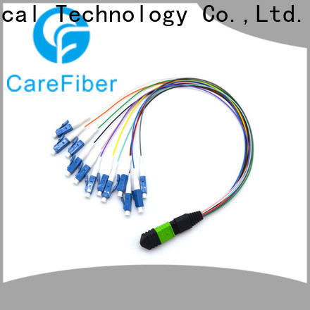 high quality mtp cable assemblies muticolor customization for telecom industry