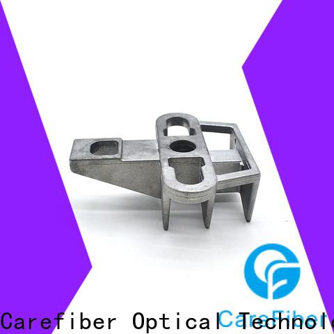 Carefiber high reliability fiber optic cable clamp program consultation for businessman