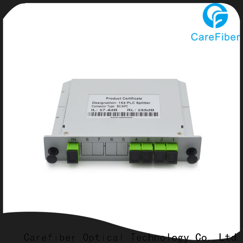 Carefiber splittercfowa16 plc optical splitter foreign trade for industry