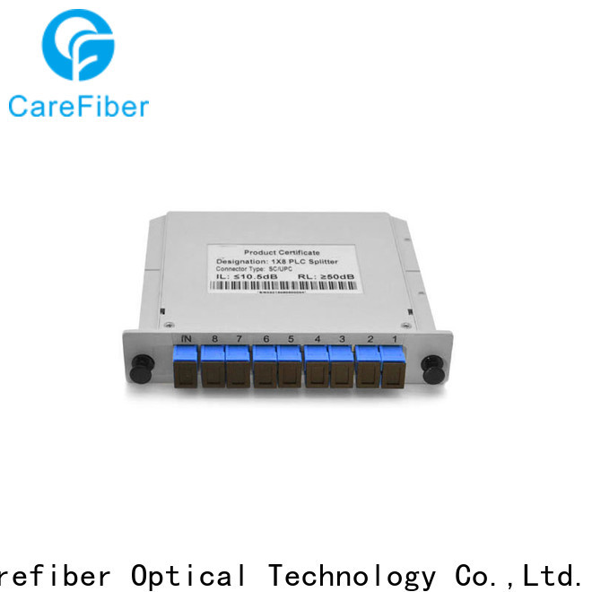 Carefiber abs fiber optic splitter types foreign trade for industry