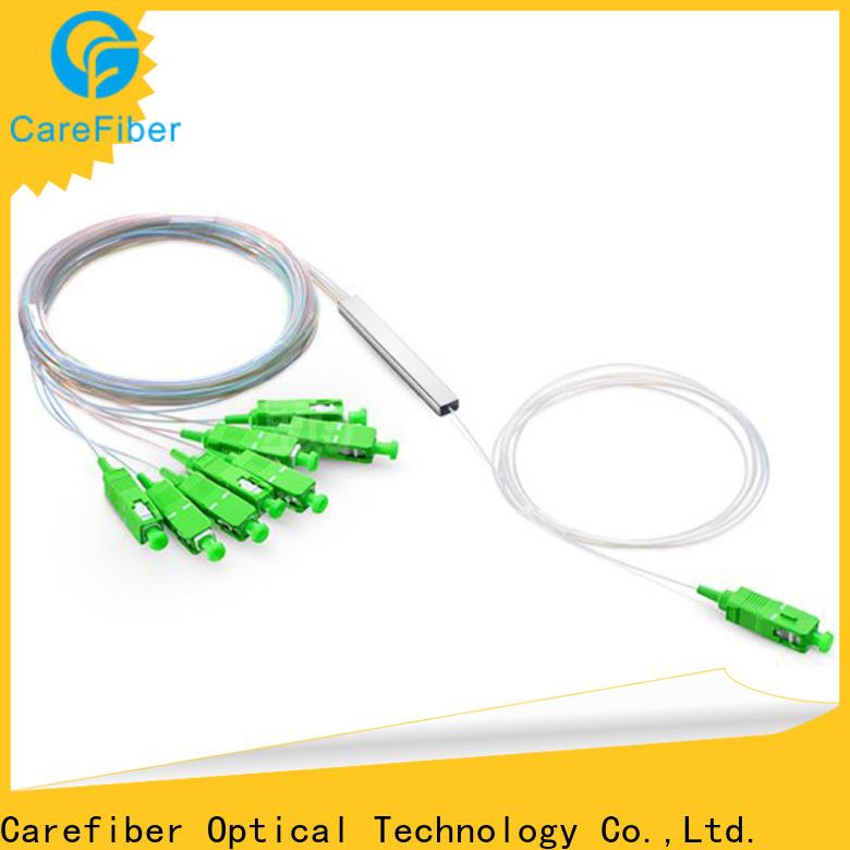 Carefiber best best optical splitter cooperation for industry