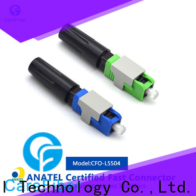 dependable fiber optic cable connector types mini factory for distribution