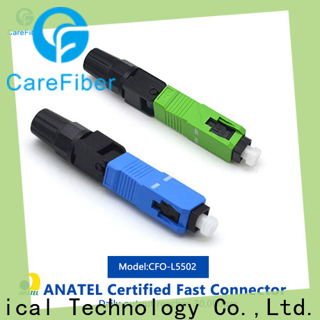 Carefiber new optical connector types trader for consumer elctronics