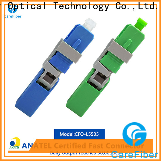 Carefiber carefiber fiber optic lc connector trader for communication