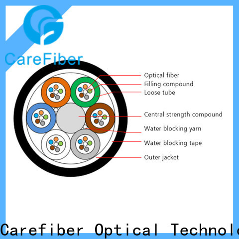 high quality single mode fiber cable gcyfy manufacturer for communication