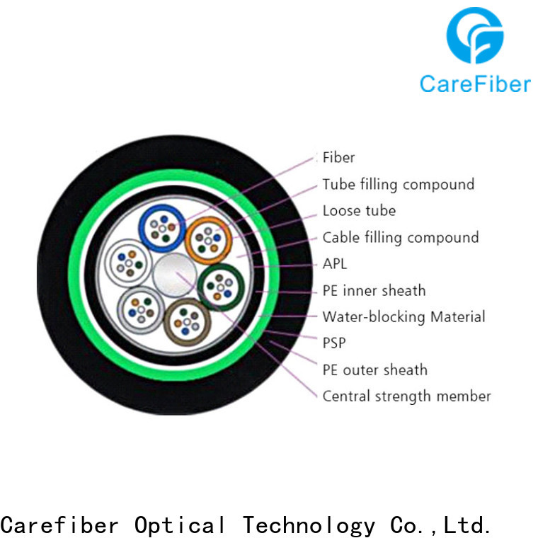 Carefiber gyxtw outdoor fiber optic cable buy now for trader