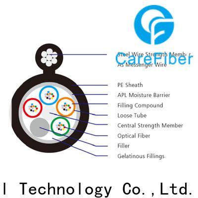 Carefiber gytc8s outdoor fiber cable wholesale for communication