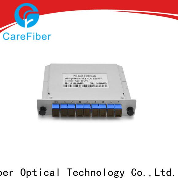 Carefiber splitter best optical splitter cooperation for communication