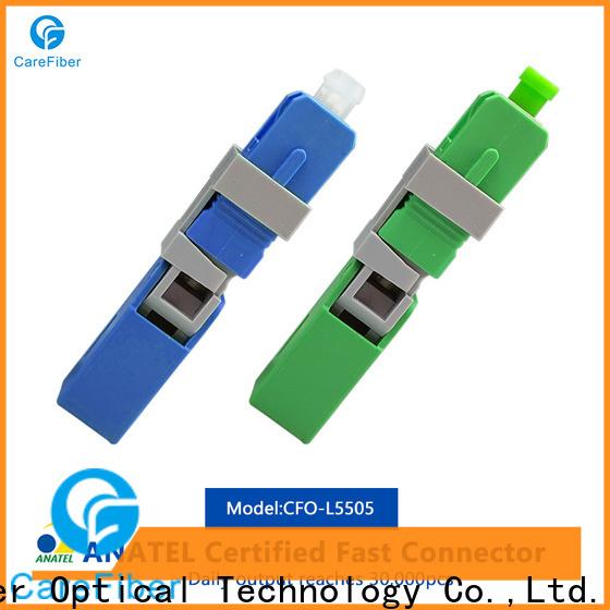 Carefiber new lc fiber connector provider for communication