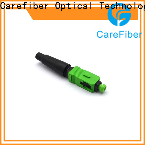 Carefiber dependable lc fiber connector provider for communication